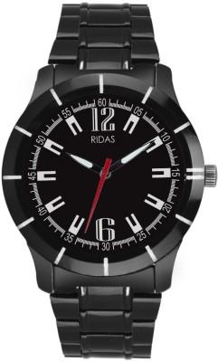 Ridas 6345_black Steel Sports Analog Watch  - For Men