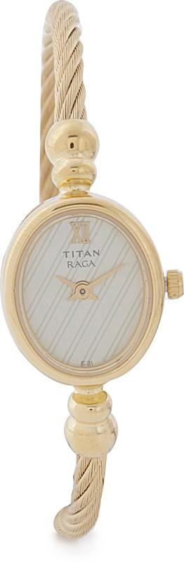 Titan NF197YM01 Raga Analog Watch For Women