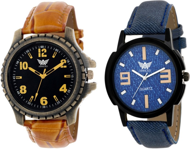 Abrexo Abx 1221 Combo Modish Analog Watch For Men