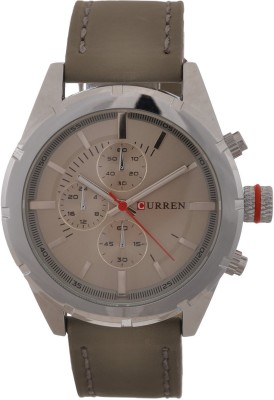 Curren Nx Signature Luxury Misted Green Dial Analog Watch  - For Men, Boys
