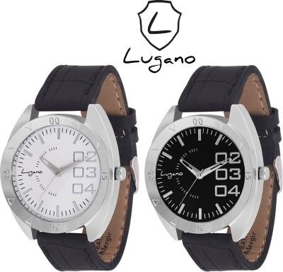 Lugano DE1056LG Analog Watch  - For Men, Boys
