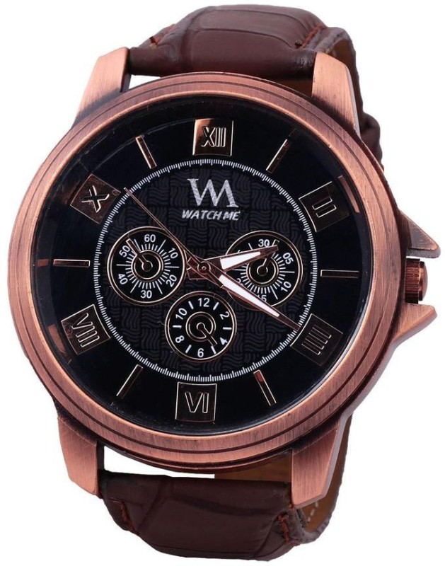 Watch Me WMAL 0032 BBv Analog Watch For Men