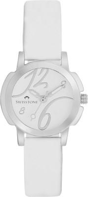 SWISSTONE NOVA-LR202-WHITE Analog Watch  - For Women, Girls