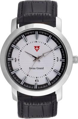 Swiss Grand Sg-0821_white Grand Analog Watch  - For Men