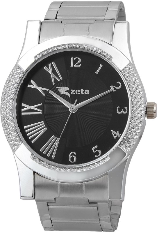 Zeta JER20724 New Stylish Steel Casual Analog Watch For Men
