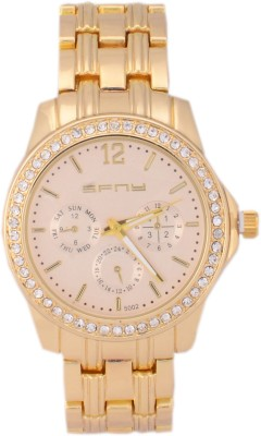 SFNY S89GO Analog Watch  - For Women