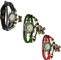 Krazykart butterfly combo3 Analog Watch  - For Women