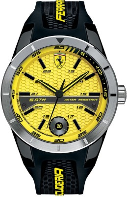 Scuderia Ferrari 0830251 Red Rev T Analog Watch  - For Men