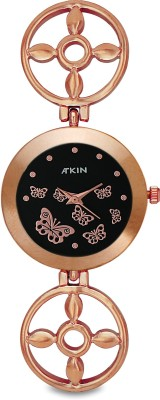 Atkin AT-142 Copper Analog Watch  - For Women, Girls