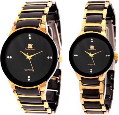 IIK Collection Couple Watch 013M-1002W Luxury Analog Watch  - For Men, Women, Boys, Girls