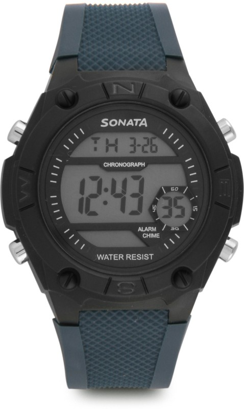 Sonata NH77033PP03 Digital Watch For Men