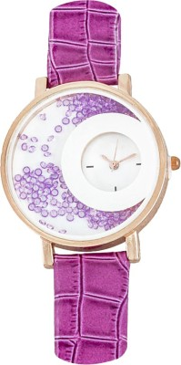 RBS Online Trading Company MxRe_ONION-Pink_MovingBeeds Analog Watch  - For Women, Girls