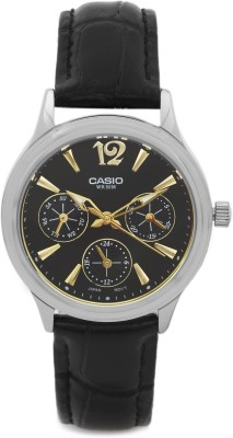 Casio A861 Enticer Analog Watch - For Women