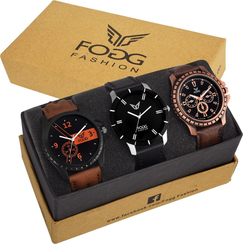 FOGG 7004 Gents Superior Combo Modish Analog Watch For Men