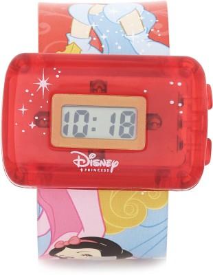 Disney PSSQ801-01A Digital Watch  - For Girls, Boys