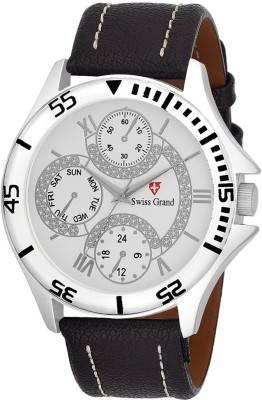 Swiss Grand SG-1027 Grand Analog Watch  - For Men
