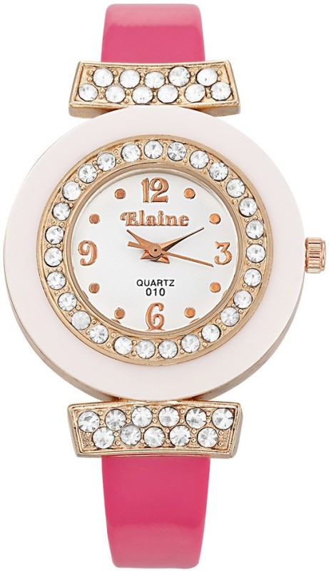 Elaine W1105PWXXZ Analog Watch For Women
