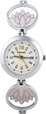 Telesonic Lcs09-White Integrity Series Analog Watch  - For Women