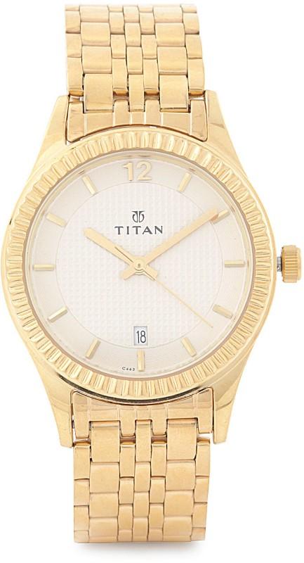 Titan NF1528YM01 Analog Watch For Men