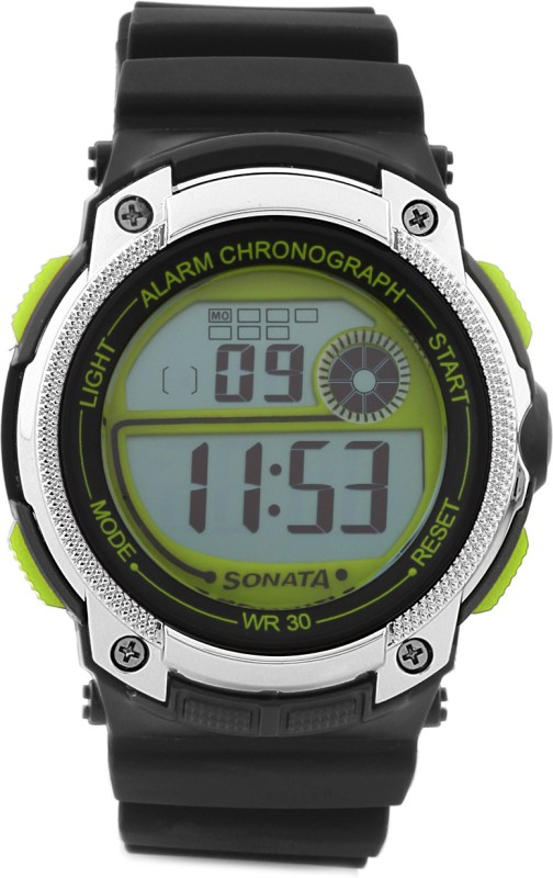 Sonata NH77005PP01 Digital Watch For Men