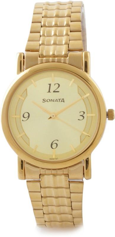 Sonata NH7987YM01CJ Analog Watch For Men