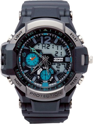 Exponi Dual Time with LED Analog-Digital Watch  - For Boys, Men