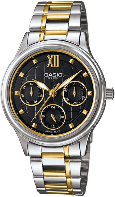 Casio A1003 Enticer Ladies Analog Watch For Women