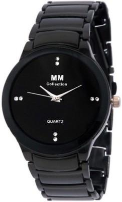MM IIK Black Analog Watch  - For Men, Boys