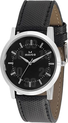 Marco MR-GR052-BLK-BLK Marco Analog Watch  - For Men