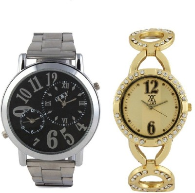 Lime AVW-22lady-15 Analog Watch  - For Couple