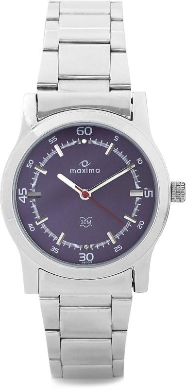 Maxima 28023CMLI Swarovski Analog Watch For Women