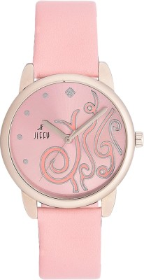 Jiffy International Inc JF-3112 Feb Collection Analog Watch  - For Girls, Women
