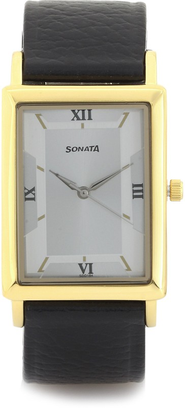 Sonata NG77003YL02 Analog Watch For Men