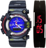 Oxhox Combo deal 4 Analog-Digital Watch ...