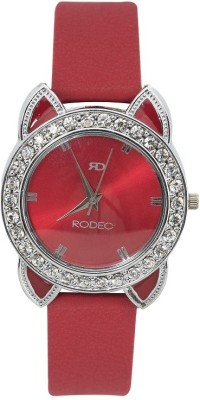 RODEC RD red ears dial womens and girls watch Analog Watch  - For Women