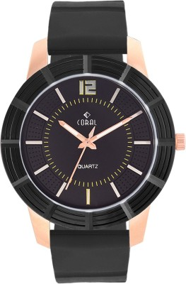 CORAL CORE BLACK ROSE Analog Watch  - For Men, Boys
