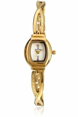 Maxima 07192BMLY Gold Analog Watch  - For Women