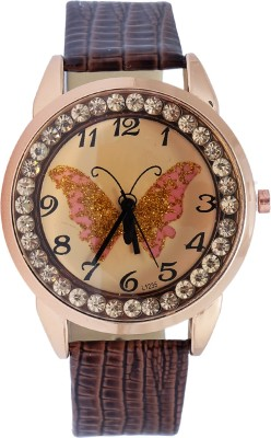 Super Drool ST2374_WT_BROWN Analog Watch  - For Women, Girls