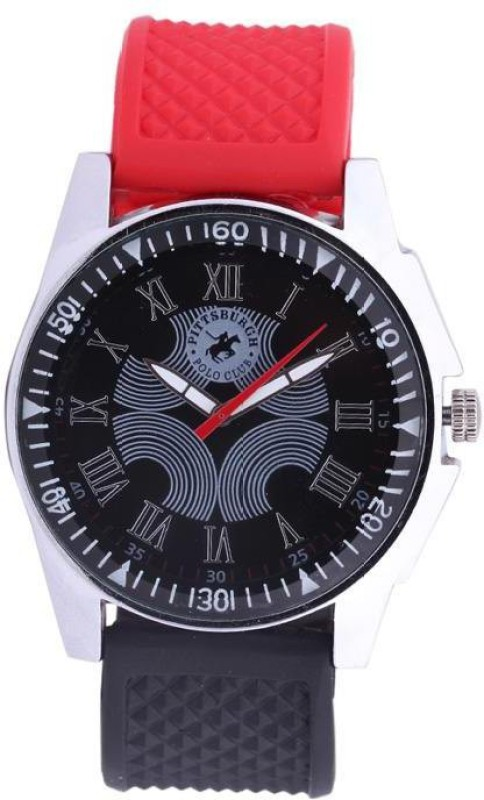 Pittsburgh Polo Club PBPC 4582003 Analog Watch For Men