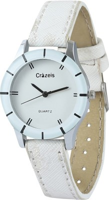 Crazeis WT-FD11WH-KD Analog Watch  - For Girls