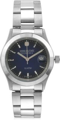 Swiss Military H-5023-BLUE-STEEL-WOMEN,S SMH Analog Watch  - For Girls, Women