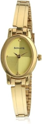 Sonata 8100YM02 Analog Watch - For Women