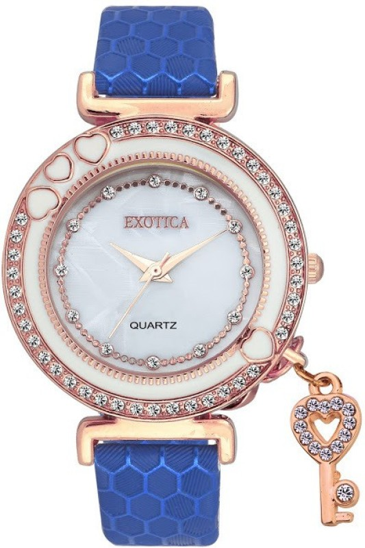 Exotica Fashion EFL 500 Rose Gold Blue Special collection for Wom