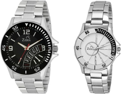 ZIERA ZR2288-ZR8020 Analog Watch - For Couple