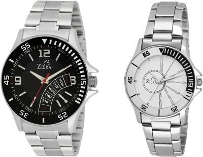 ZIERA ZR2288-ZR8020 Analog Watch  - For Couple