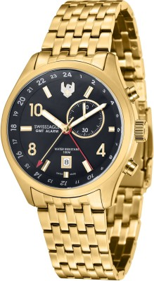 Swiss Eagle SE-9060-55 Analog Watch - For Men