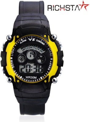 Richstar 7LighYLw Digital Watch  - For Boys, Girls, Men, Women, Couple
