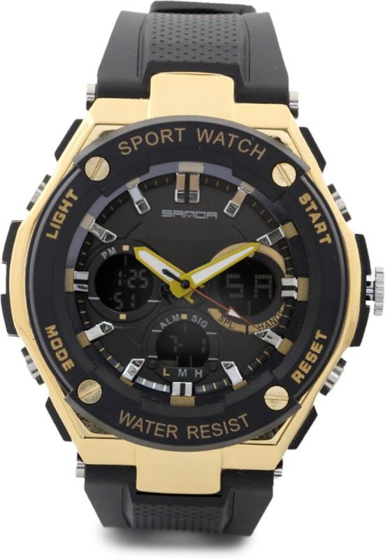 Sanda S7563YL Analog Digital Watch For Men