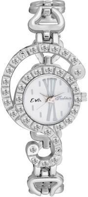 EVA DL-LR3003-WHT Analog Watch  - For Women