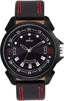 dazzle DZ-GR-BLK-BLK DUMY DATE Analog Watch  - For Boys, Men